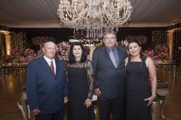 Oswaldo e Ocimeire Siqueira, Danilo e Isla Correia