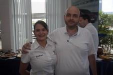 Rebeca Freitas e Olavo Filho