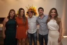 Soraya e Adamir Macedo,Neuriano Sales, Daniel e Louise Macedo