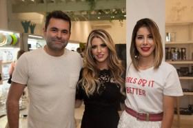 Alan Bezerra, Raquel Macedo e Tabata Farias
