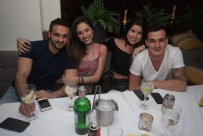 Amir Farhad, Paloma Cavalcante, Estefane de Vicente e Gabriel Chasso