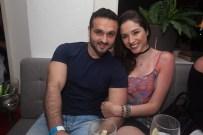 Amir Farhad e Paloma Cavalcante