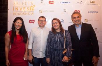 Bruna Sereno, Stanley e Daniele Leão, Paulo Angelim