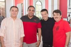 Eliseu Barros, Teco Rocha, Ferrucio Feitosa e Raimundinho Feitosa (1)