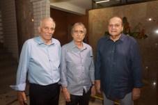 Fabio Machado, Flavio Parente e Carlos Augusto Moraes