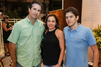 Flavio Menezes , Flurisa Gurgel e Flavio Neto