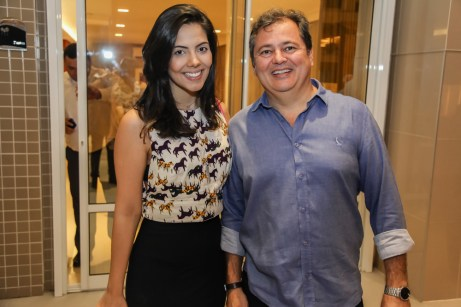 Ingride Moura e Augustinho Moura