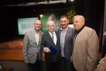 João Soares, Cid Carvalho, Arthur Bruno e Roberto Farias_
