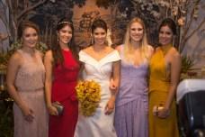 Maira Menescal, Beatriz Ximenes, Larissa Ximenes, Rafaela Basto e Leticia Ximenes