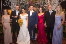 Maira Menescal, Daniel Basto, Larissa Ximenes, Newton, Cristine, Newton e Rafaela Basto