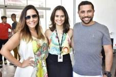 Nara Lima, Larissa Bernardo e Aldeson Matos