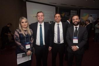 Priscila Brito, Leonardo Vasconcelos, Geraldo Holanda e Rafael Sanzio
