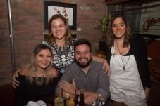 Renata Pereira, Ana Carolina, Daniel Contente e Ana Carolina Mota
