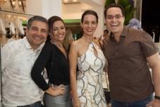 Roberto Dias, Silvia Vasconcelos, Fernanda Zbalos e Francisco Campelo