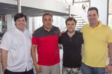 Roberto Mota, Teco, Raimundo Feitosa e Ricardo Brandão (1)