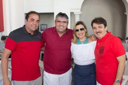 Teco Rocha, Paulo e Liliane Nogueira, Raimundinho Feitosa