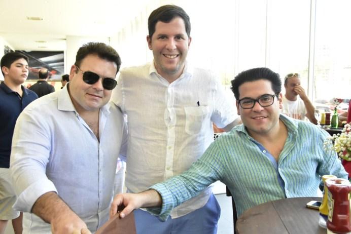 Ze Carlos Pinheiro, Rodrigo Carneiro e Edimilson Pinheiro