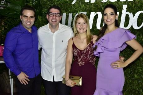 André Guanabara, Alvaro e Roberta Madeira e Catarine Guanabara