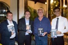 Claudio Fortier, Marcos Almeida, Paul Marcos e Kelvin Vasconcelos (1)