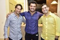 Claudio Rocha, Guilherme Beco e Felipe Rocha