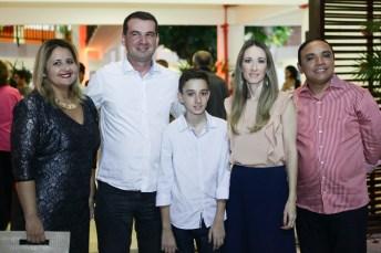 Denise Aguiar, Josbertini, Vera e Leonardo Clementino e Jair Silva (4)