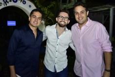 Fabricio Vasconcelos, João Victor Caminha e Bruno Bastos