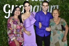 Graça Ramalho, Catarine e André Gunabara e Guardalupe Ramalho