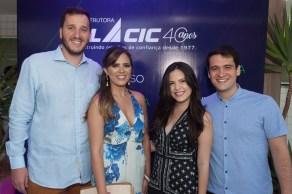 Jeferson Poess, Beatriz Gama, Camila Studart e Pedro Henrique Ferreira