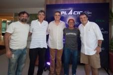 Jocélio Leal, José Hissa, José Carlos Gama, André Montenegro e Ricardo Bezerra