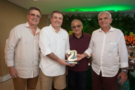 Jose Carlos Gama, Ricardo Bezerra, Marciano Freitas e Luiz Henrique Coelho