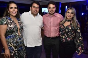 Lais Soares, Paulo Argão, Romulo e Milena Ramalho