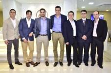 Marcelo Falcão, Ibraim Cavalcante, Adriano Vasconcelos, Helmut Poti, Wilson Parente, André e Gustavo Benevides