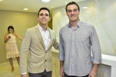 Marcelo Falcão e Nelson Pimentel