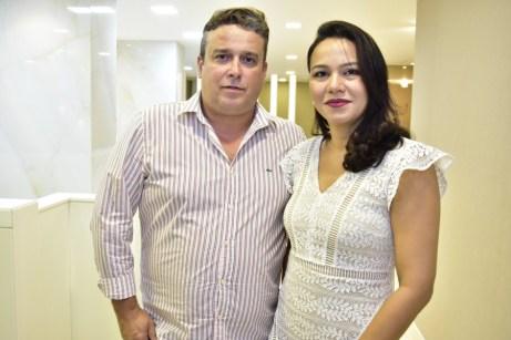 Marcio Vinicius e Suzana Cavalcante