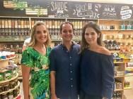 Maria Luiza, Marcelo Miranda e Caroline Borges