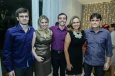 Pedro, Camila, Breno, Rosana e Luiz Moreira de Sousa (1)