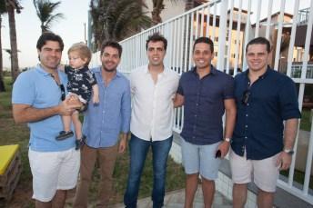 Rafael Boris, Marcelo Borges, Gama Filho, Rafael Sá e Gilvando Figueiredo