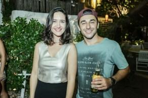 Sara Pianowski e Victor Reis