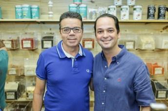Sergio Aragão e Marcelo Miranda