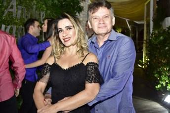 Shirley Caminha e Eudson Aragão