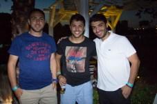 Thiago Stuner, Bruno Carone e Rafael Praxedes (1)