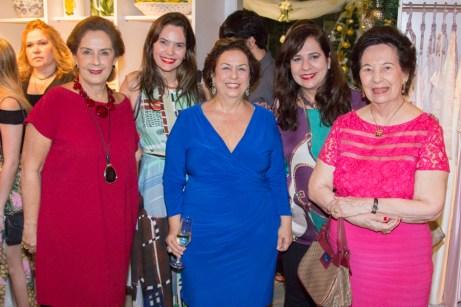 Tida Leal, Cristiana Carneiro, Júlia Philomeno, Martinha Assunção e Zueide Menezes (2)