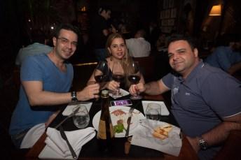 Valter Machado, Priscila Malheiros e Bruno Fernandes