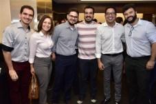 David Mendes, Ceci Medeiros, Tomaz Bianc, Leo Lacerda, Elísio Medeiros e Luiz Back
