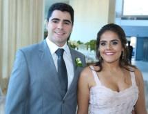 Eduardo Braga e Karine Antonucci