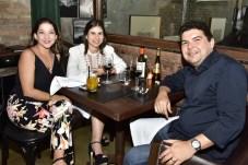 Eliza Arcoverde, Rita Rolim e Leonardo Maranhão