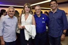 Emanuela Capistrano, Monia Heuser, Francisco Back e Claúdio Barreira
