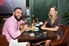 George Albuquerque e Luciana Teixeira