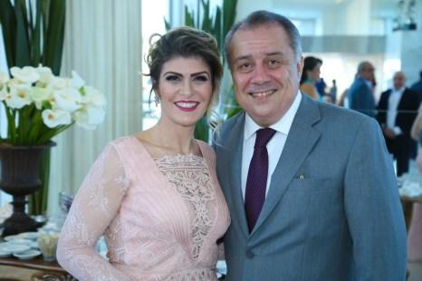 Giselle e Adalto Bezerra Jr