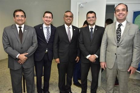Jardson Cruz, Roberto Victor, Marcelo Mota, Rodrigo Costa e Valdir Xavier